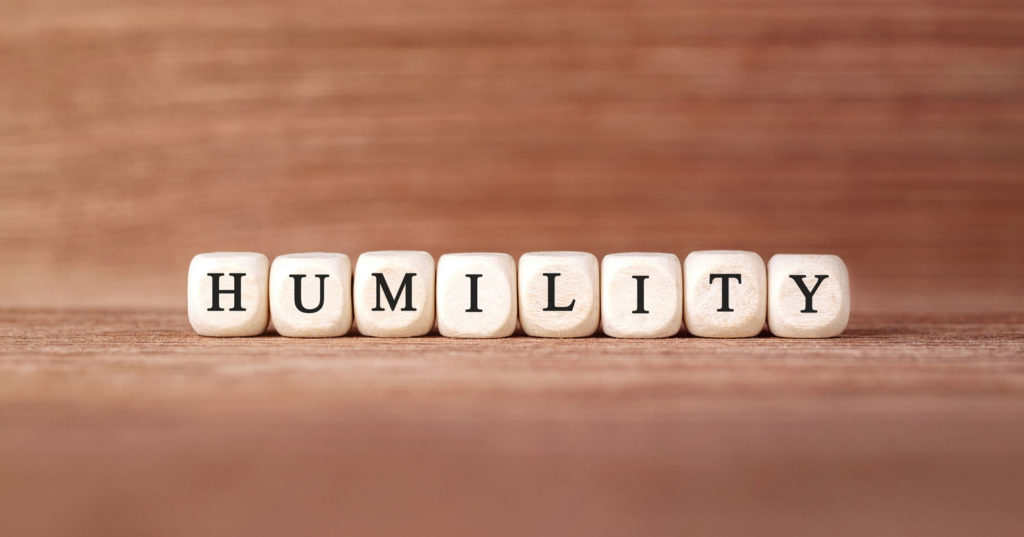 A lesson on humility
